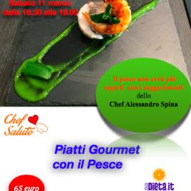 Piatti Gourmet con il Pesce